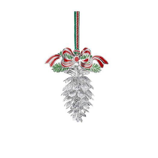 Newbridge Silverware | Snowflake Cone Hanging Decoration