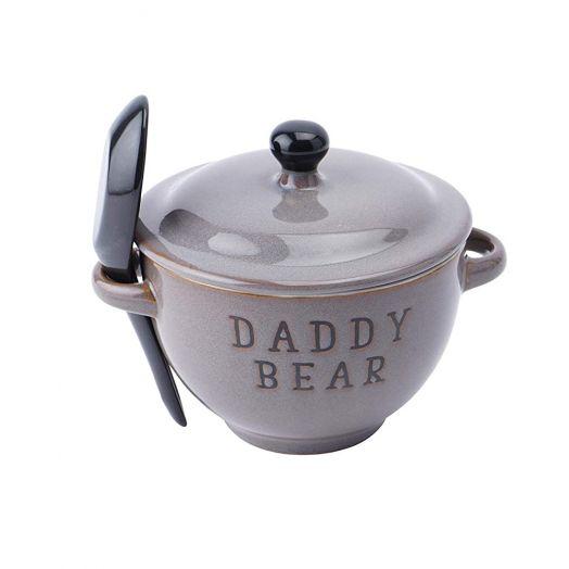 Daddy Bear Porridge Bowl With Spoon Set