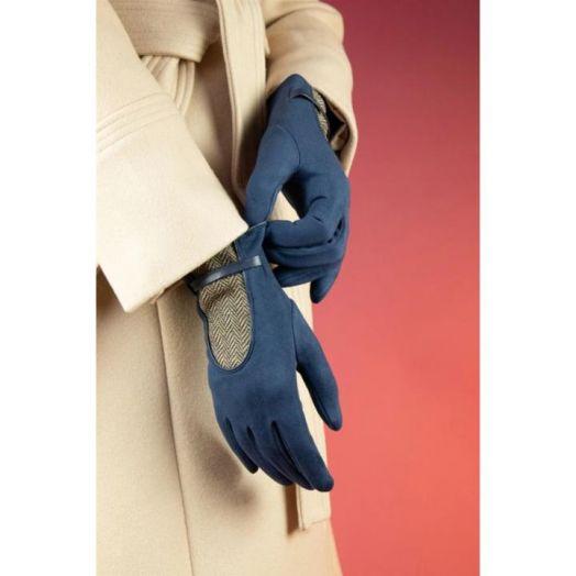 Powder   Genevieve Gloves in Navy