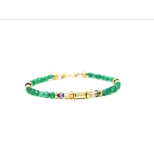 K Kajoux   Emerald Skinny Bracelet
