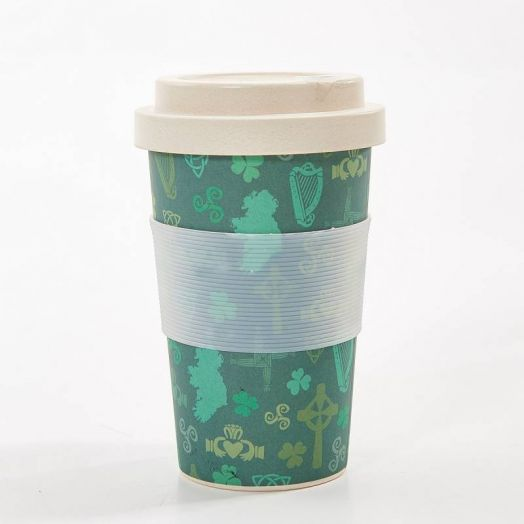 Eco Chic | Irish Montage Bamboo Cup