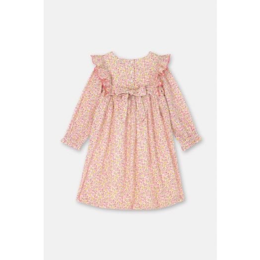 Cath Kidston | Ashbourne Long Sleeve Frill Dress