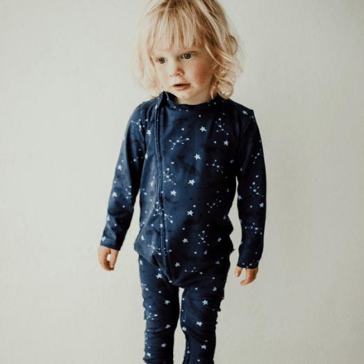 The Stork Box | Star Grippy Zippy Sleepsuit