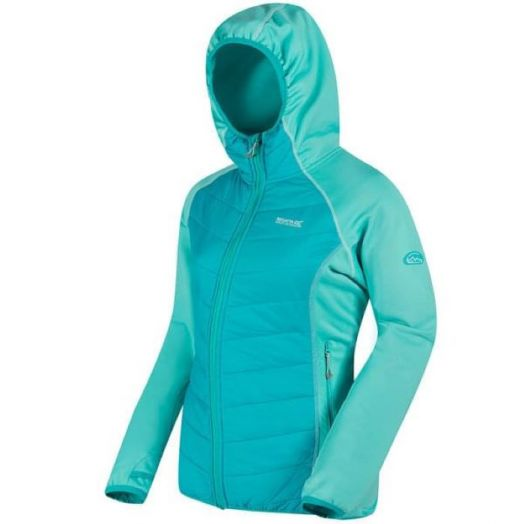 Regatta | Andreson Lightweight Hooded Hybrid Walking Jacket-Aqua