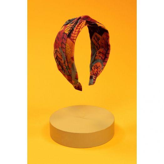 Powder   Printed Velvet Scandi Forest Headband