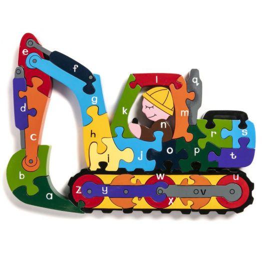 Alphabet Jigsaws   Alphabet Digger Puzzle