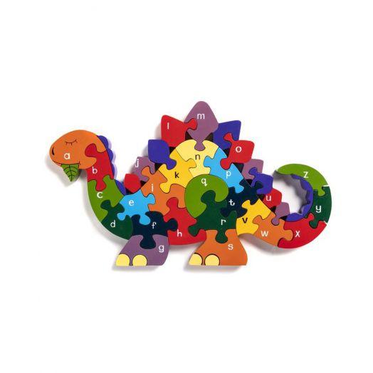 Alphabet Jigsaws   Alphabet Dinosaur Jigsaw