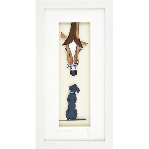 Black Hen Designs | Any News Framed Art