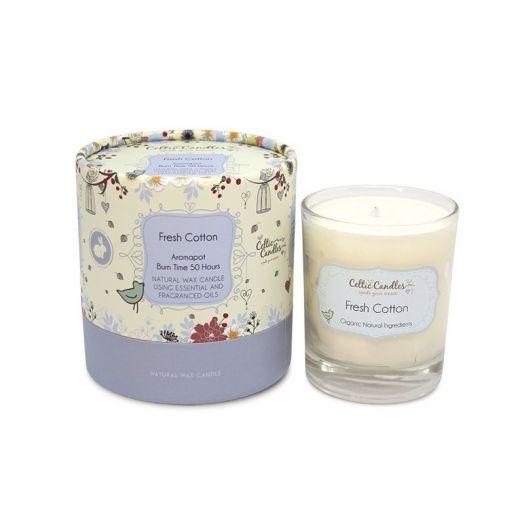 Celtic Candles | Fresh Cotton Aromapot Tumbler