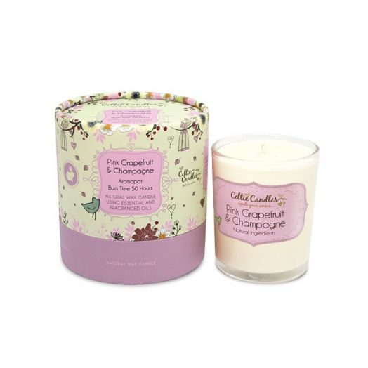 Celtic Candles | Grapefruit And Champagne Aromapot Tumbler