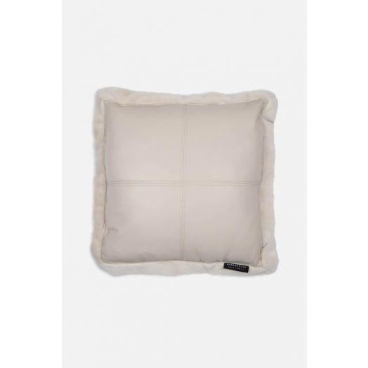 Rino & Pelle | Vegan Leather Cushion - Birch