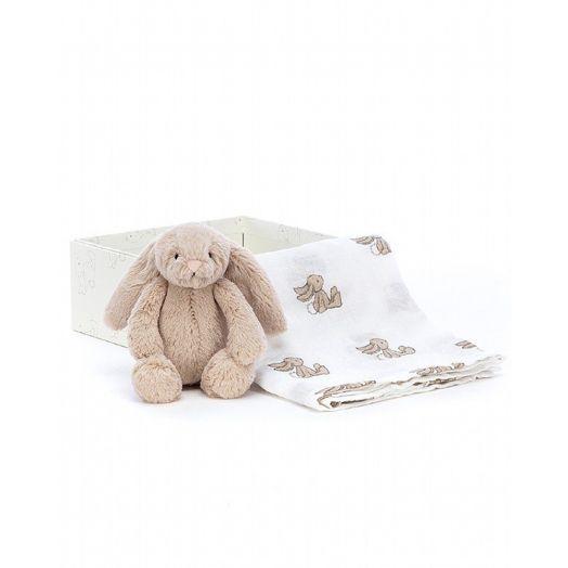 Jellycat | Beige Bunny Gift Set