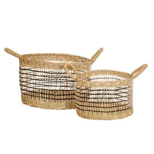 Sass And Belle | Open Weave Baskets Set of 2