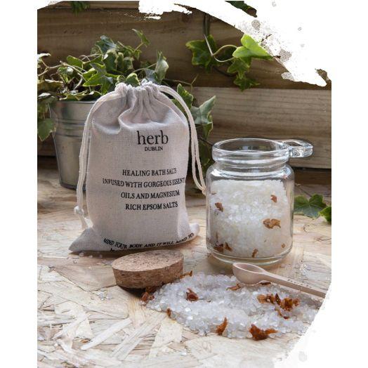Herb Dublin | Peppermint and Eucalyptus Bath Salts