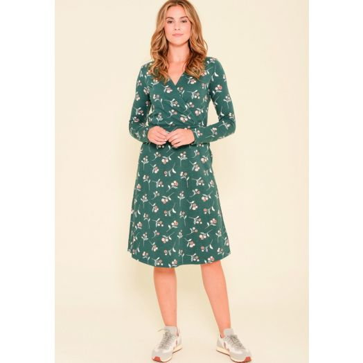 Brakeburn | Cherry Wrap Dress