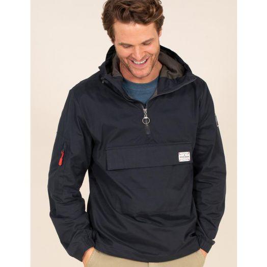 Brakeburn | Pullover Jacket- Navy