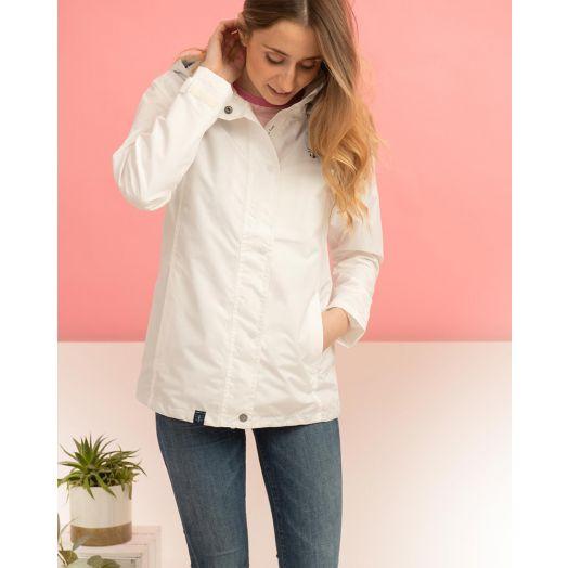 Lighthouse   Beachcomber Waterproof Jacket - Blanc White