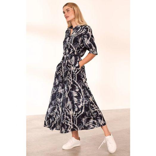 Kaffe | KAvalentina Print Maxi Dress- Blue
