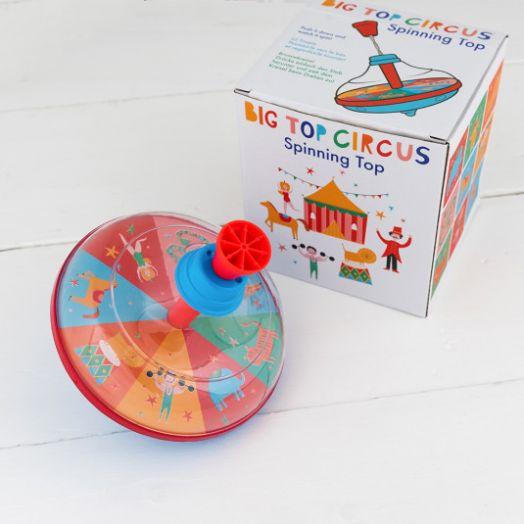 Rex London   Big Top Circus Spinning Top