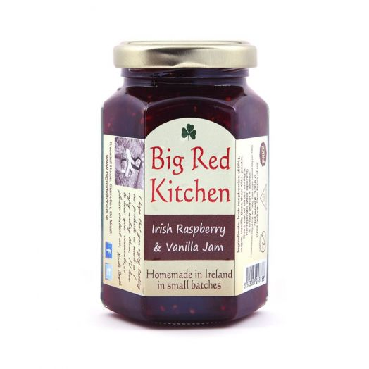 Big Red Kitchen | Raspberry and Vanilla Jam-130g