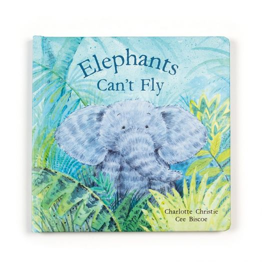 Jelly Cat | Elephants Can't Fly Book