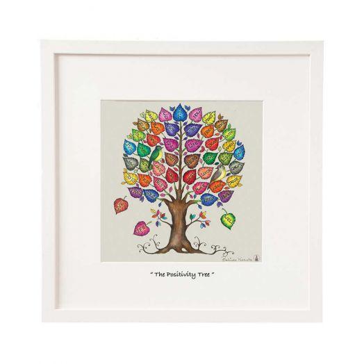 Belinda Northcote | Positivty Tree Framed Art 12x12