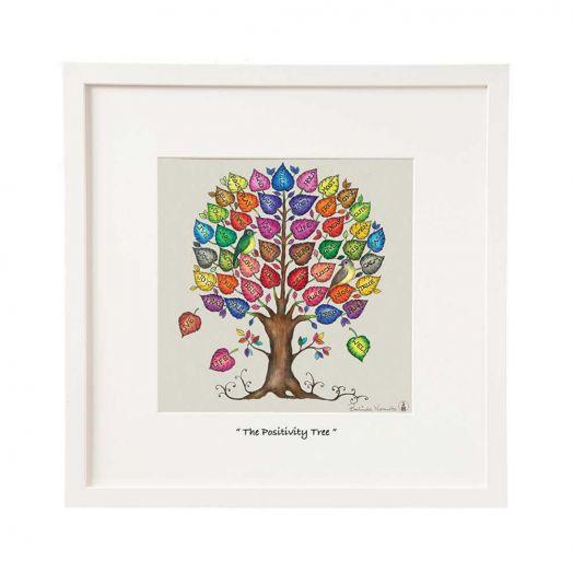 Belinda Northcote | The Positivity Tree Mini Framed Art