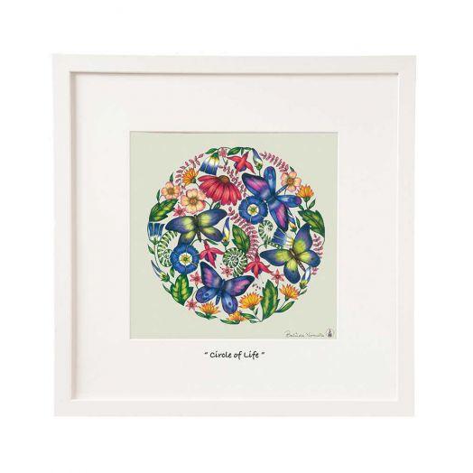 Belinda Northcote | Circle of Life 12x12 Framed Art