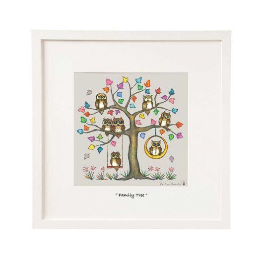 Belinda Northcote | Family Tree Framed Art 12x12