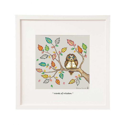 Belinda Northcote | Words of Wisdom Mini Framed Art