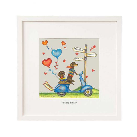 Belinda Northcote | Make Time Framed Art- 12x12