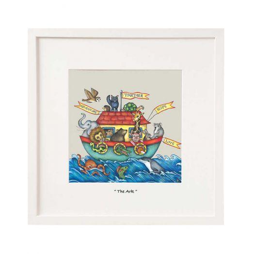 Belinda Northcote | The Ark Mini Framed Art
