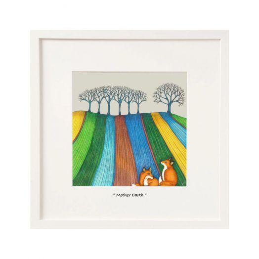 Belinda Northcote | Mother Earth Mini Art Frame