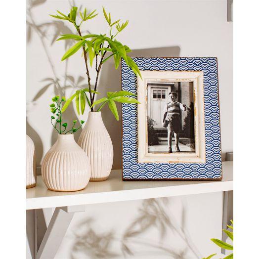 Sass & Belle | Wave Photo Frame - Blue
