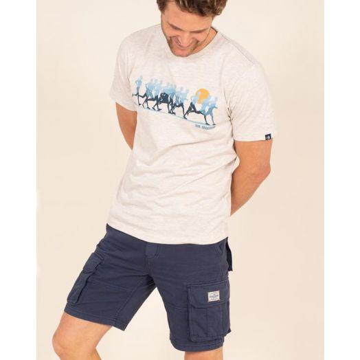 Brakeburn | Washed Cargo Shorts- Navy
