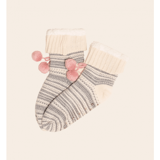 Brakeburn | Fairisle Slipper Socks