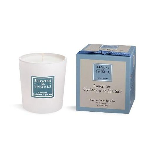 Brooke And Shoals | Lavender, Cyclamen & Sea Salt Candle - Small