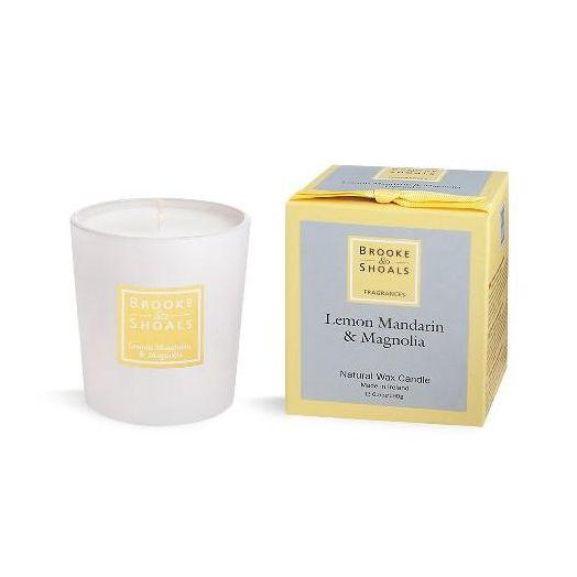 Brooke And Shoals | Lemon And Magnolia Candle