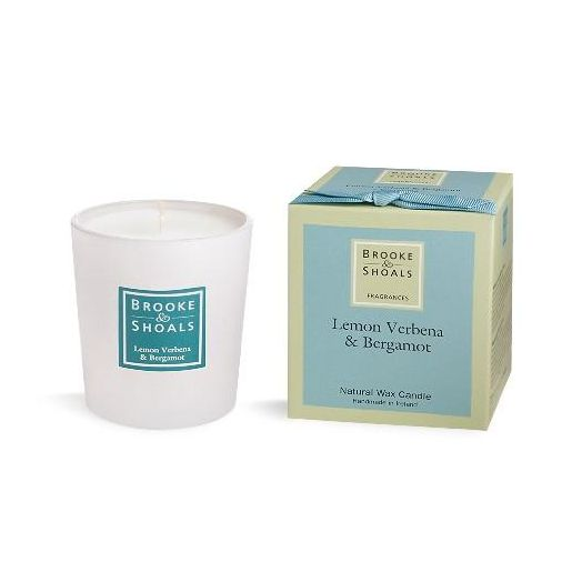 Brooke And Shoals | Lemon Verbena And Bergamot Candle - Small