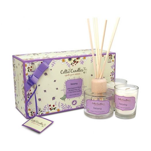 Celtic Candles | Relaxing Gift Box