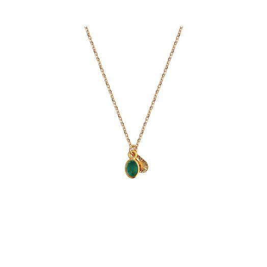 Nilai | Gaia Necklace - Emerald