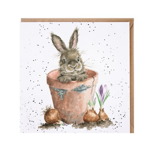 Wrendale | The Flower Pot Card