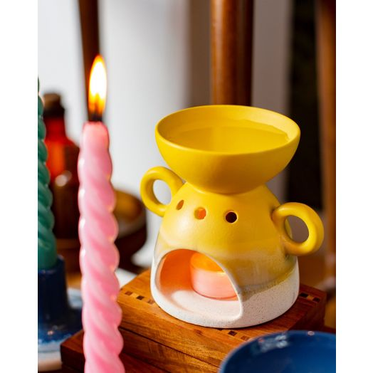Sass And Belle | Mojave Oil Burner - Yellow