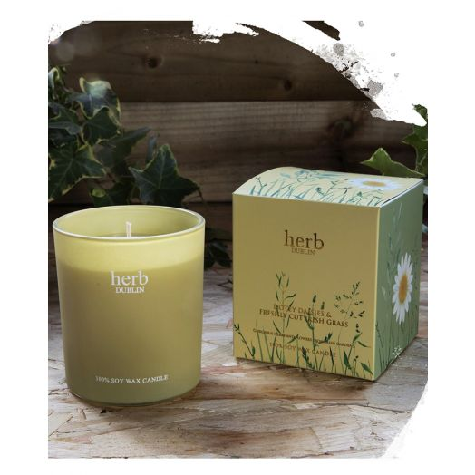 Herb Dublin | Dootey Daisies and Freshly Cut Grass Candle