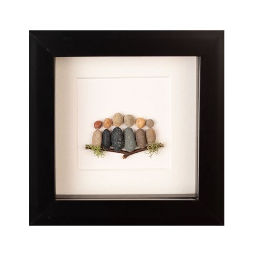 Simply Mourne | Mini Family of Six Frame