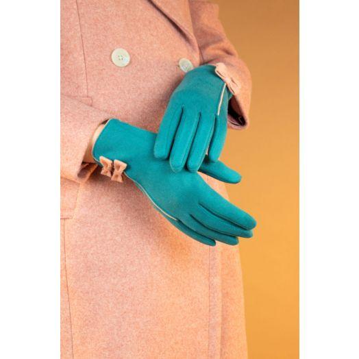 Powder   Doris Gloves in Teal