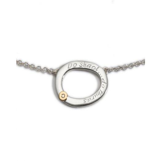 Enibas | Do Shaol Do Thuras | Silver Diamond Pendant