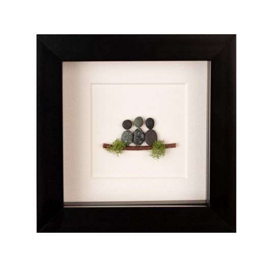 Simply Mourne | Mini Family of Three Frame