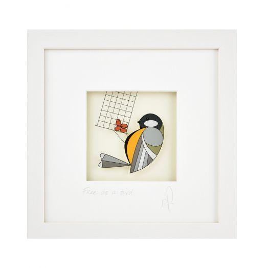 Black Hen Designs | Free As A Bird Framed Art