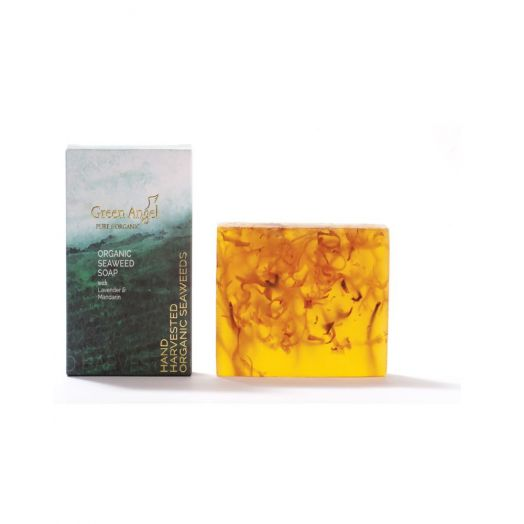Green Angel | Seaweed Soap With Lavender and Mandarin
